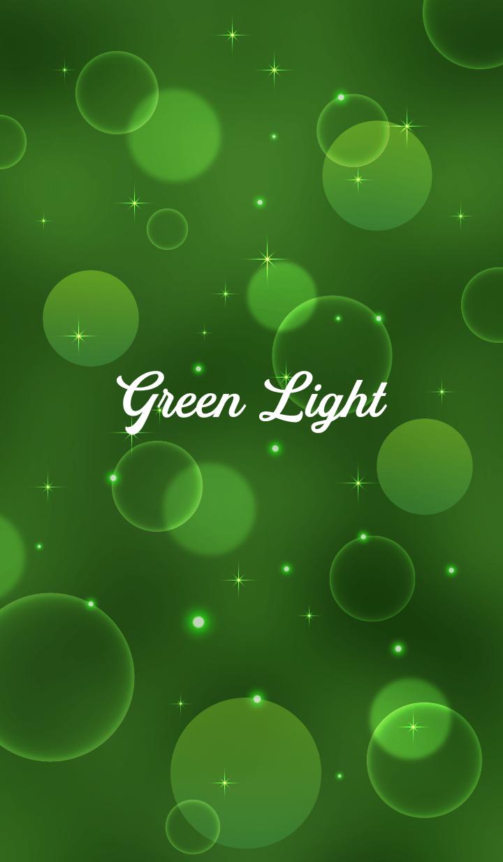 Green Light Background. 2