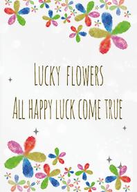 Gray / Female luck rises flower