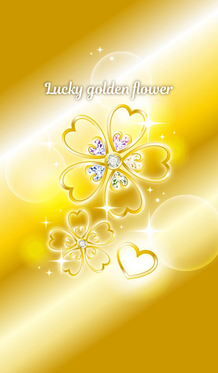 Golden flowers that bring good luck