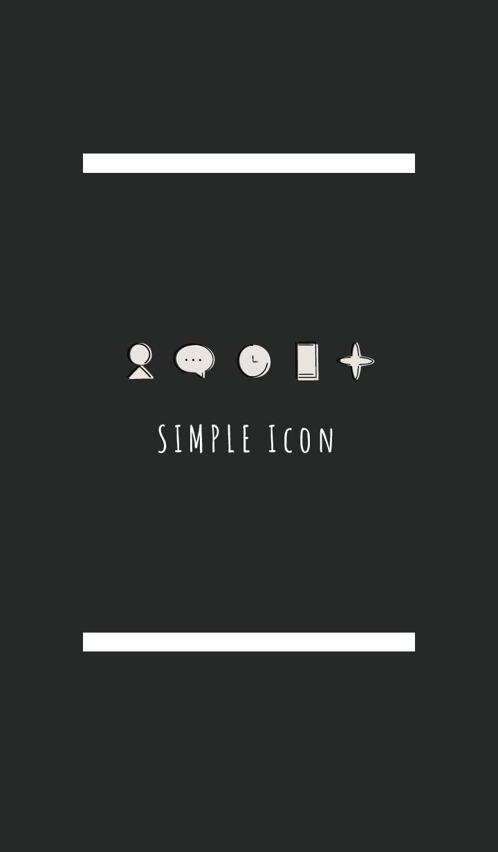 Black White : Simple Theme