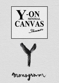 Y on Canvas -Minimal-