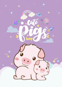 Pig Cutie Purple