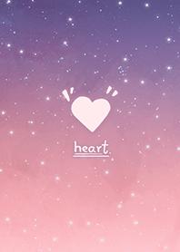 星空愛心-浪漫漸層 粉紅色 紫色