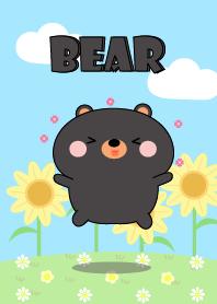Happy Lovely Black Bear Theme