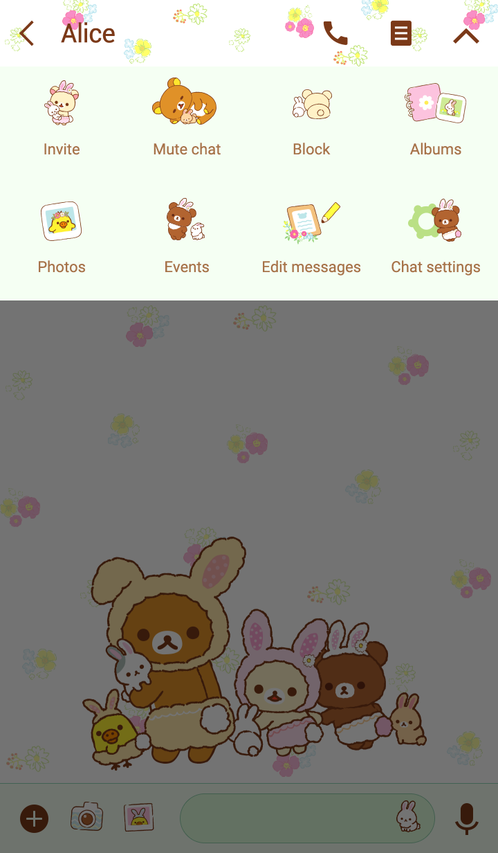 Rilakkuma~Little Cute Rabbits~