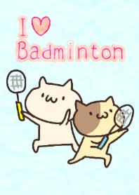 Nekotan badminton theme1