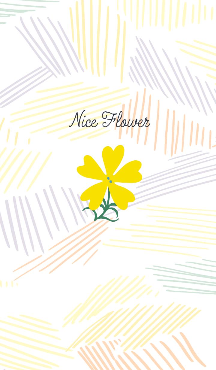 Nice Flower / Yellow