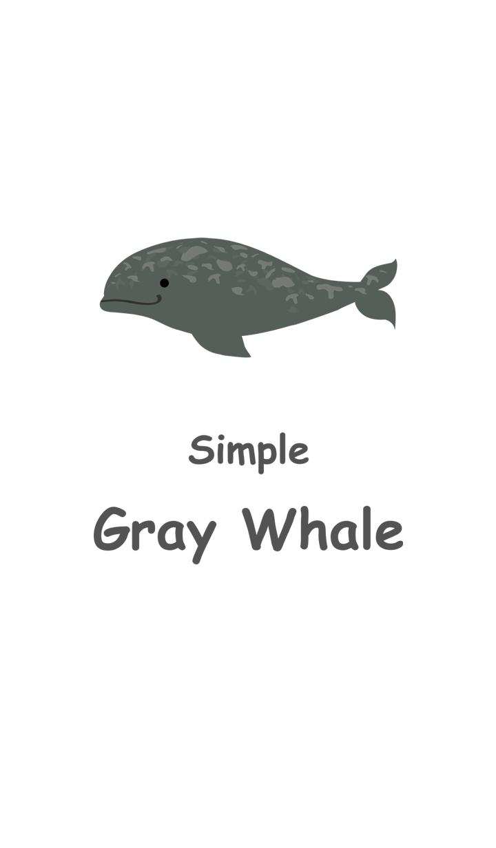 Minimal Grey Whale