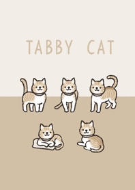 Doodle red tabby and white cat