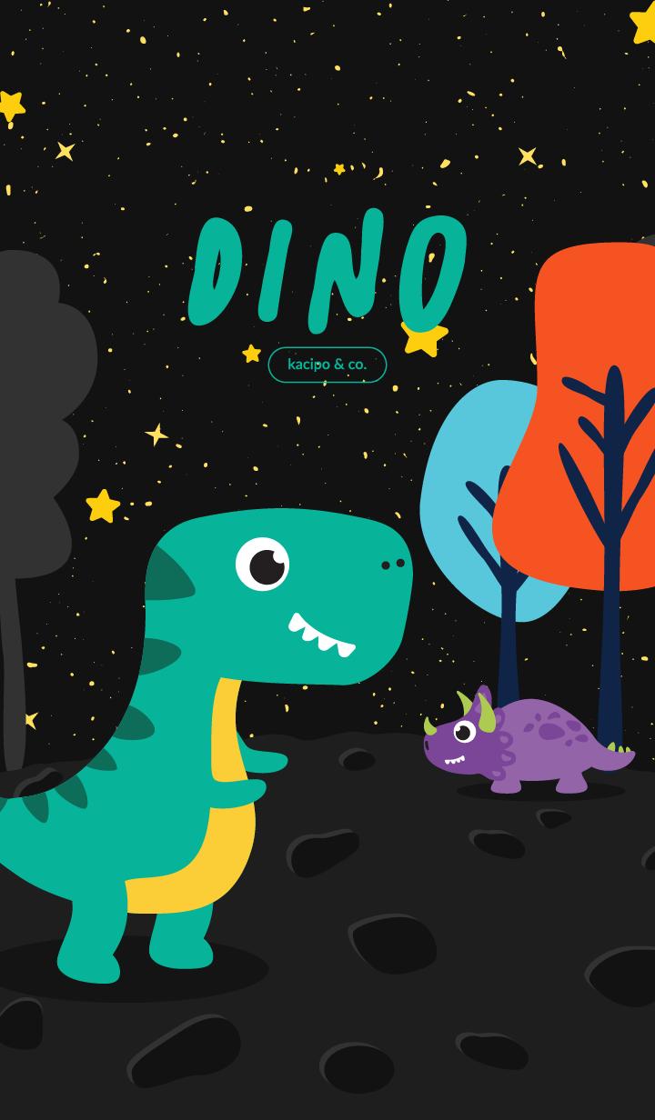 Cute Dino Park Space Ver