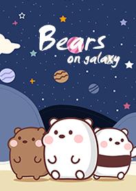 Bears on galaxy beige