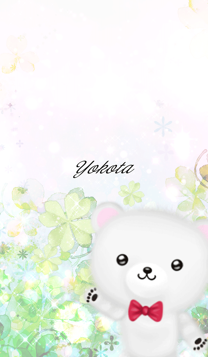 Yokota Polar bear Spring clover