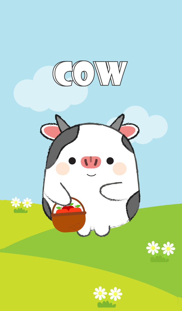Pretty Fat Cow Theme