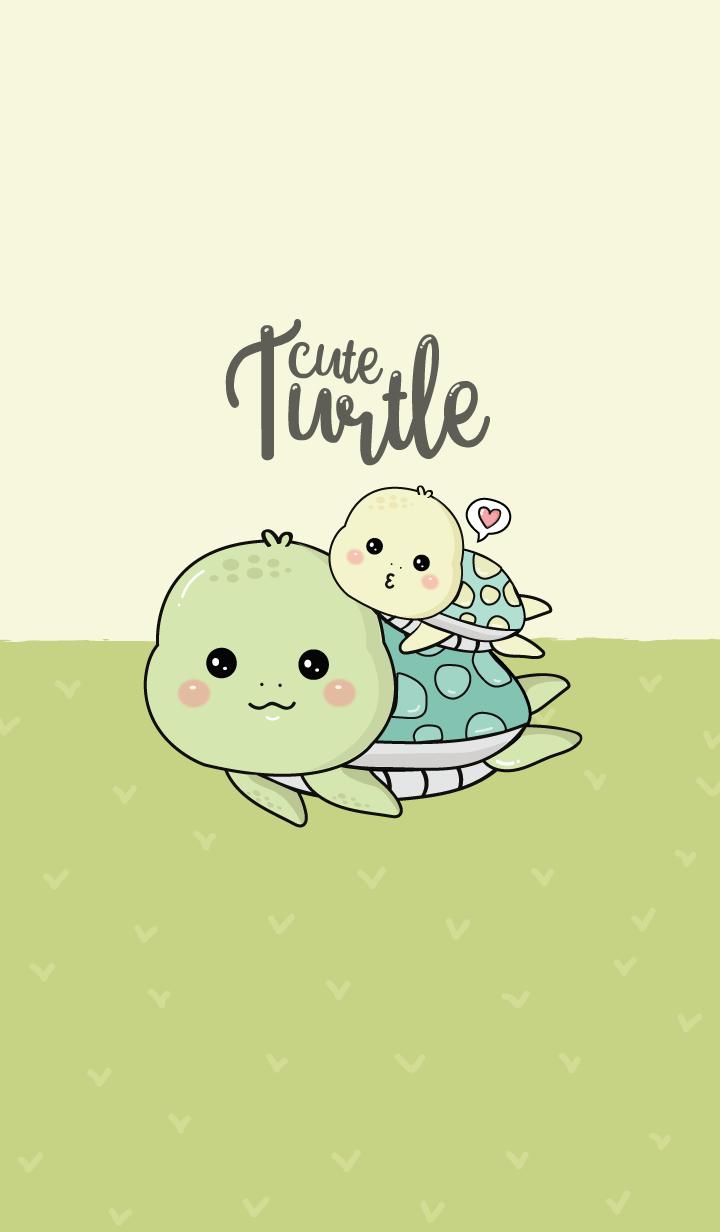 Turtle little cute.