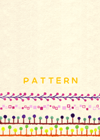 Simple and Cute pattern