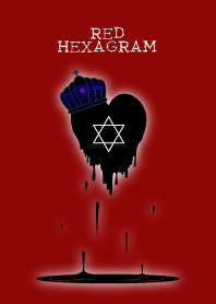 RED HEXAGRAM