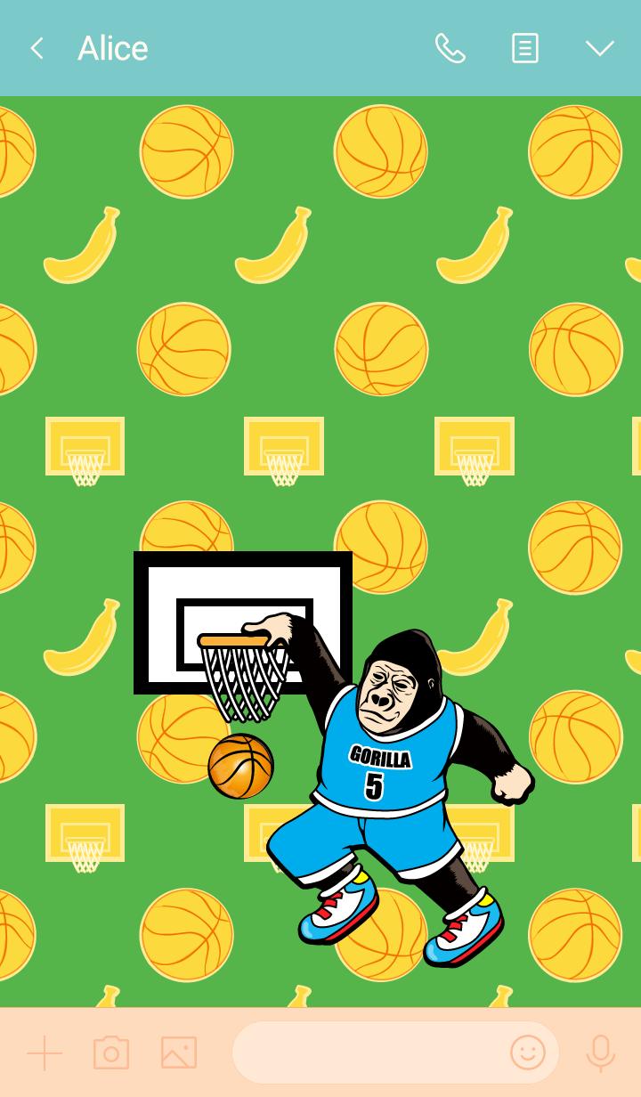 Gorigo Gorilla 118篮球