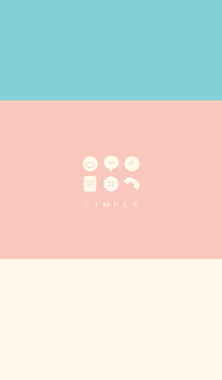 SIMPLE(pink green)V.314b