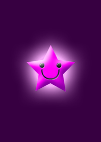 Simple star light pink