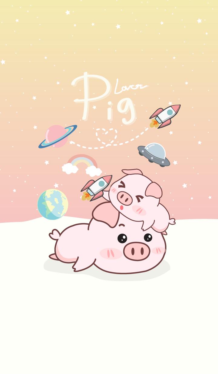 Pig lover.(galaxy pastel 2)