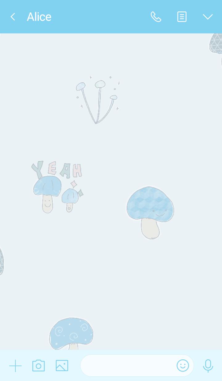 I found my OSHI-IRO , Blue-12