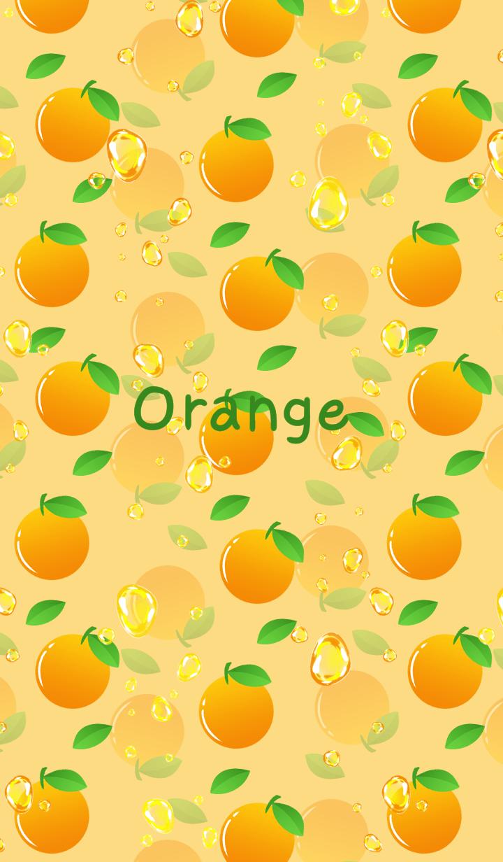 Orange soda -Orange-