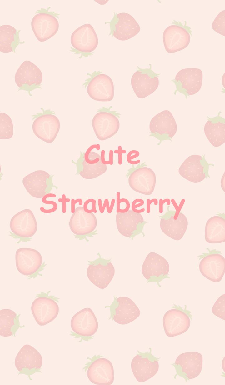 귀여운 딸기가 가득