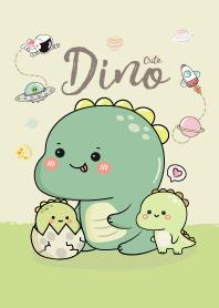 I am Dino Cute (Green)