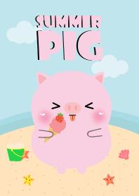 Summer Cute Pig Theme