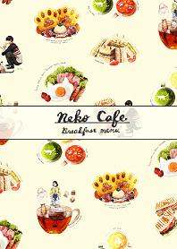 Neko Cafe - breakfast menu -