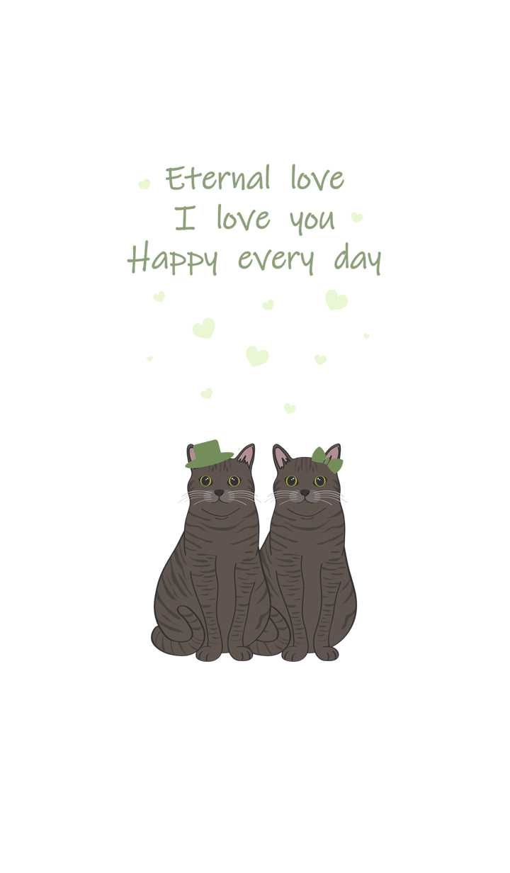 발렌타인 데이(얼룩 고양이)