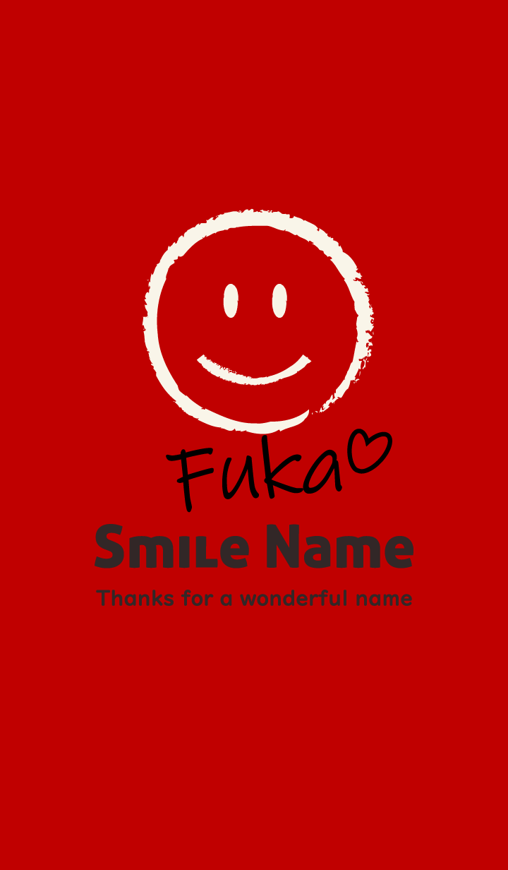 Smile Name Fuka