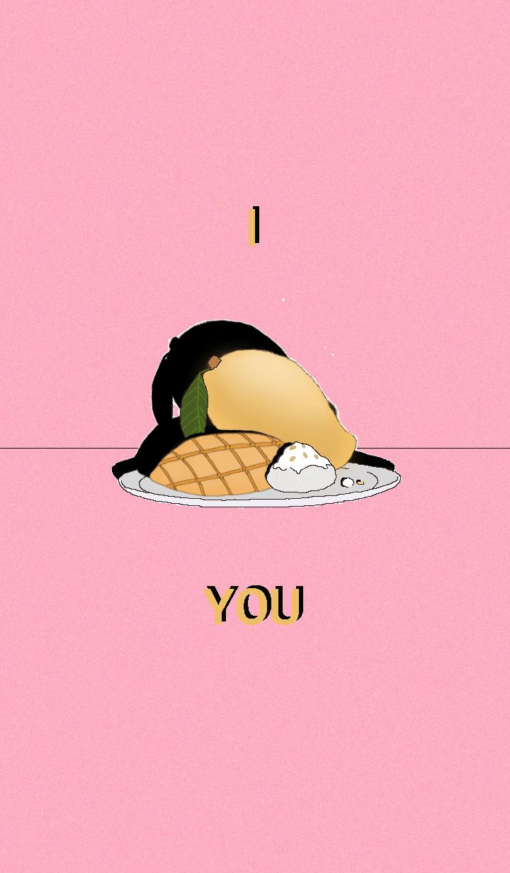 I mango you(ft.Coconut milk sticky rice)