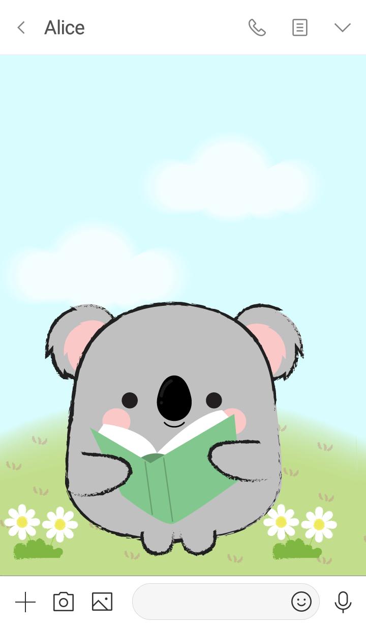 My Fat Cute Koala Theme