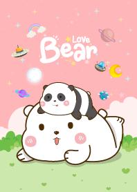 Love Pink Bear