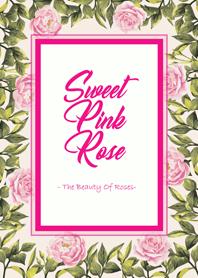 甜蜜粉紅玫瑰