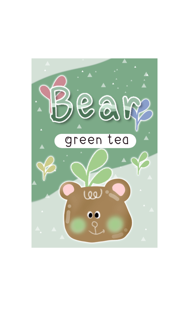 Green Tea Bear