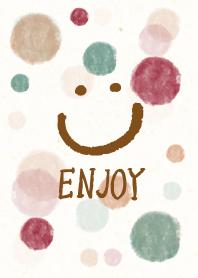 Enjoy smile-watercolor Polk...