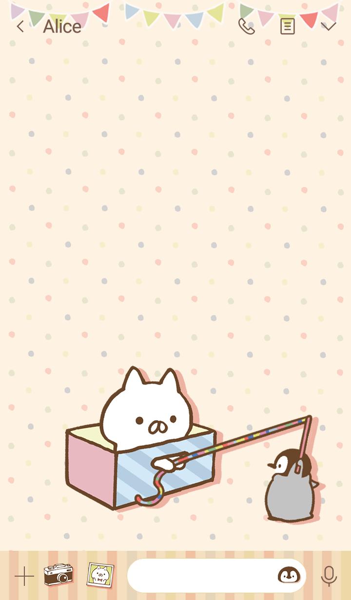 ねこぺん日和(クラフト)