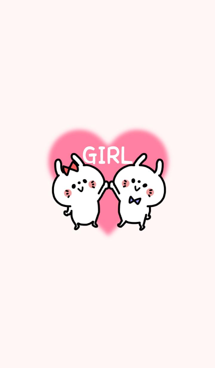 -LOVELY COUPLE THEME- GIRL / No.5