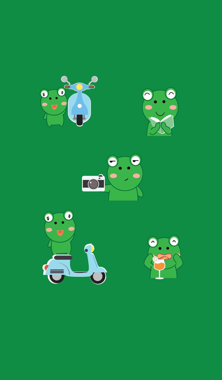 Simple Cute frog theme v.3 (JP)