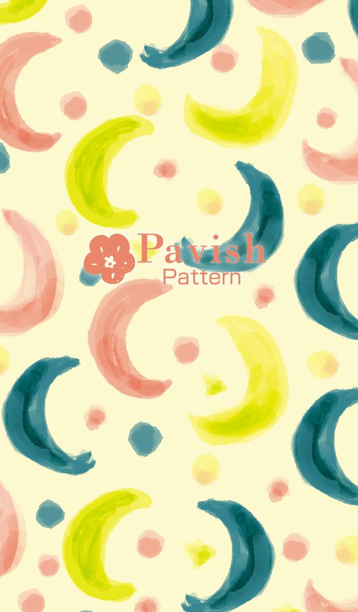 Moonlight shines -Pavish Pattern-