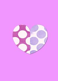 Watercolor Heart Pink