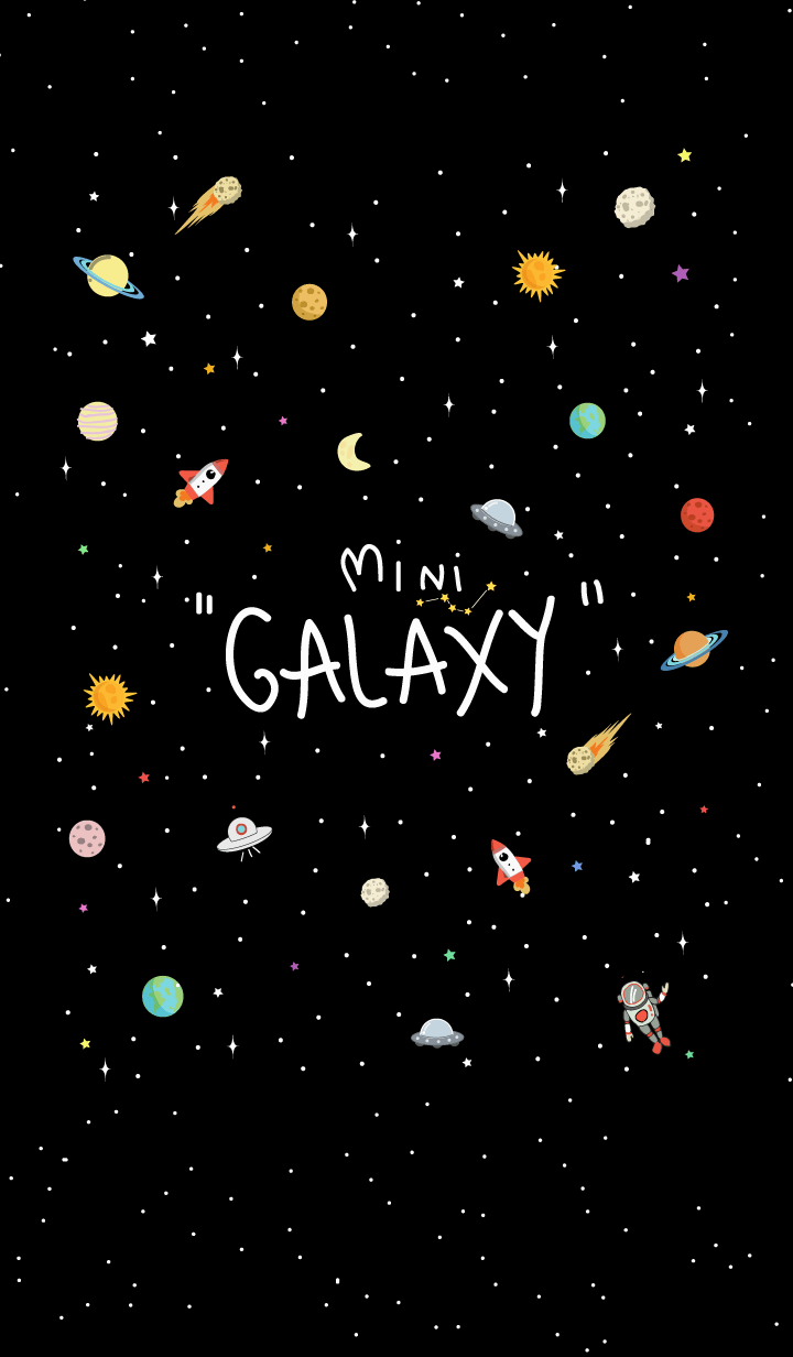 Mini Galaxy (Back ver.)