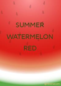 SUMMER WATERMELON RED #fresh