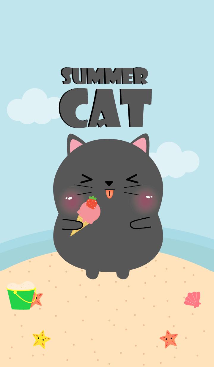 Summer Black Cat Theme (jp)