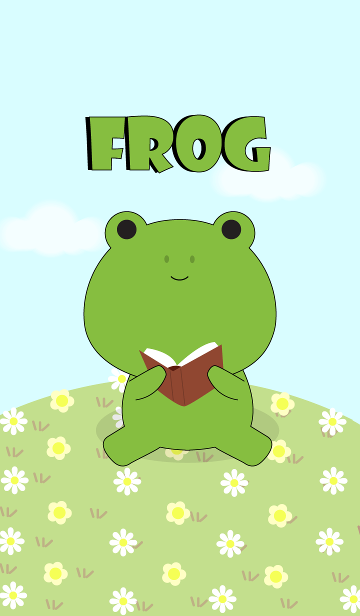 Love Cute Frog