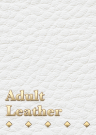 Adult leather(White)