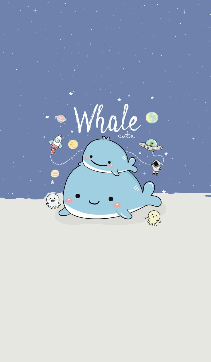 Whale Cute.
