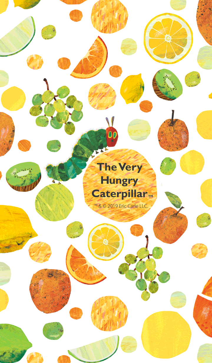THE VERY HUNGRY CATERPILLAR -Citrus-